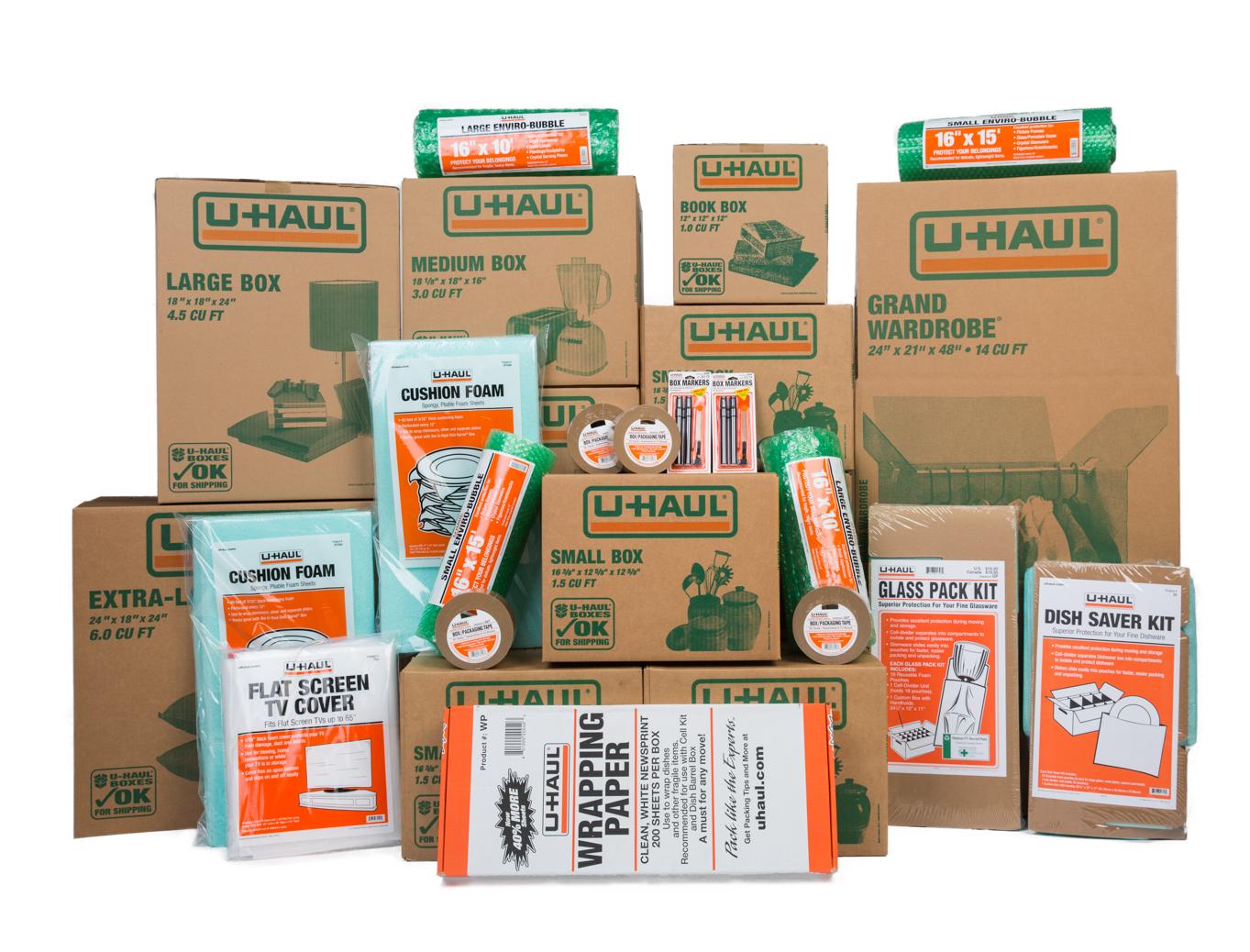 Grand kit d'emballage