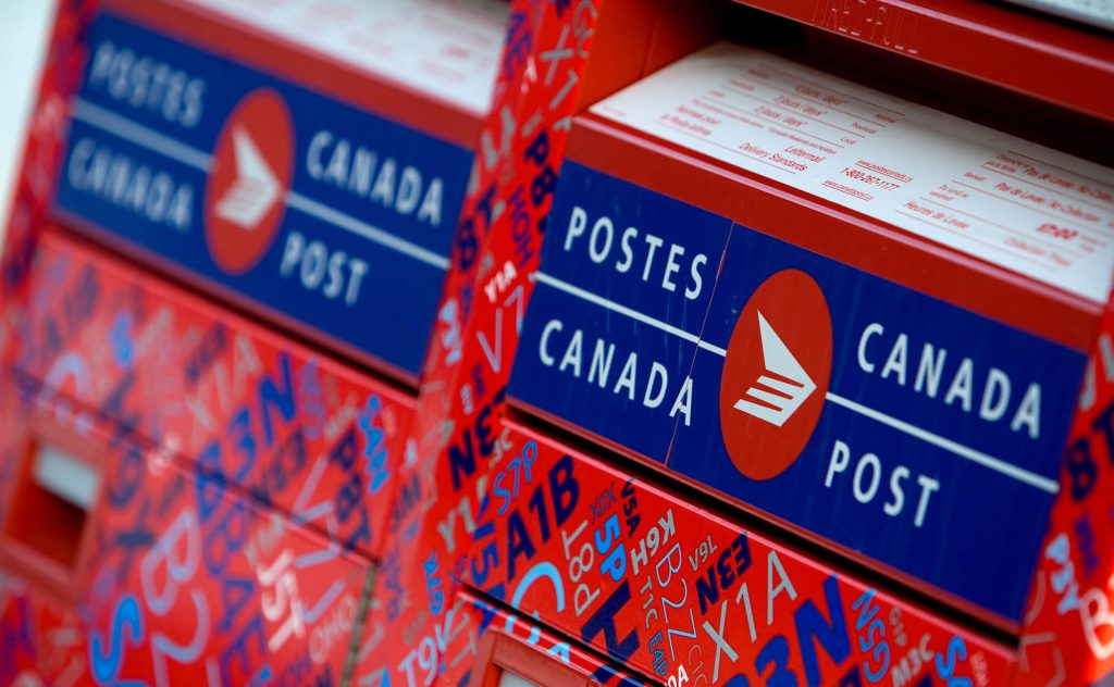 changement d'adresse Poste Canada