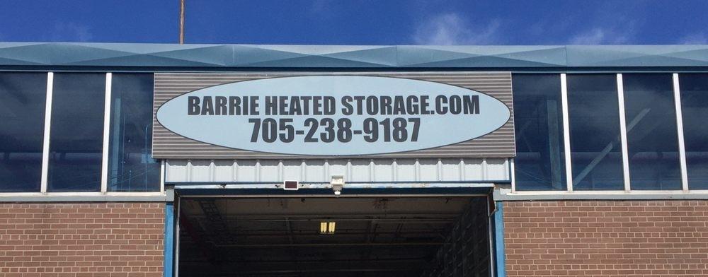 Barrie Heated Storage