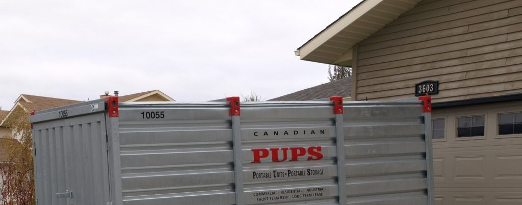 Canadian PUPS storage