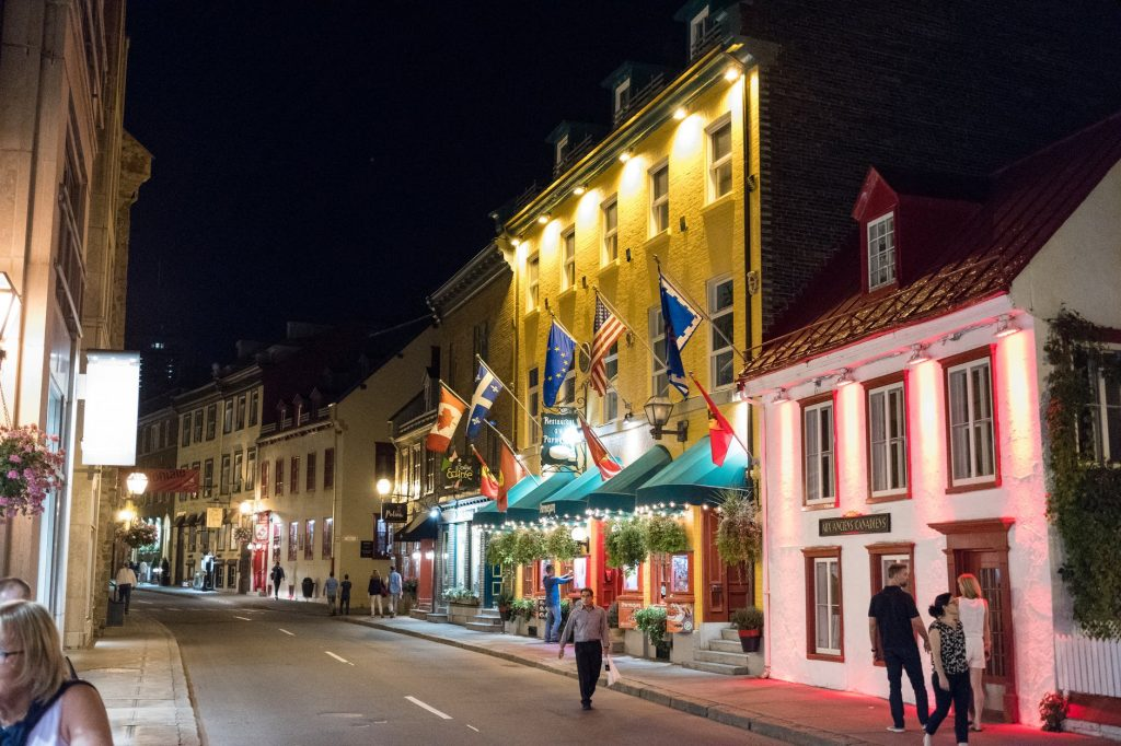 moving to Quebec City