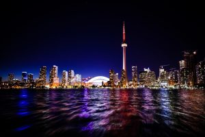 Tononto at night