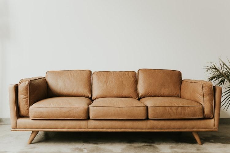 move a leather sofa