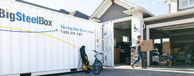 moving container canada