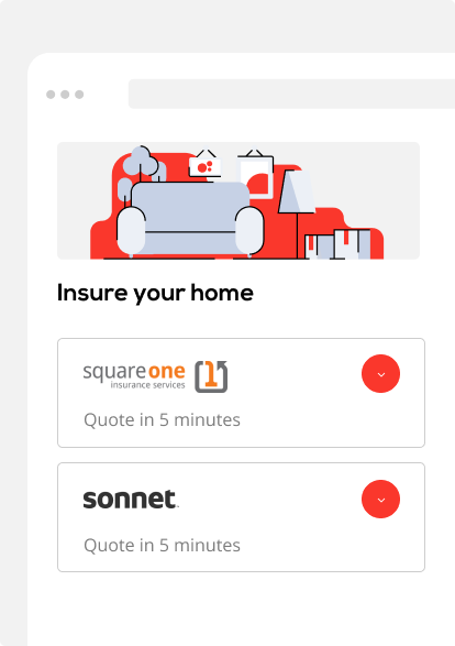 Insure your home image