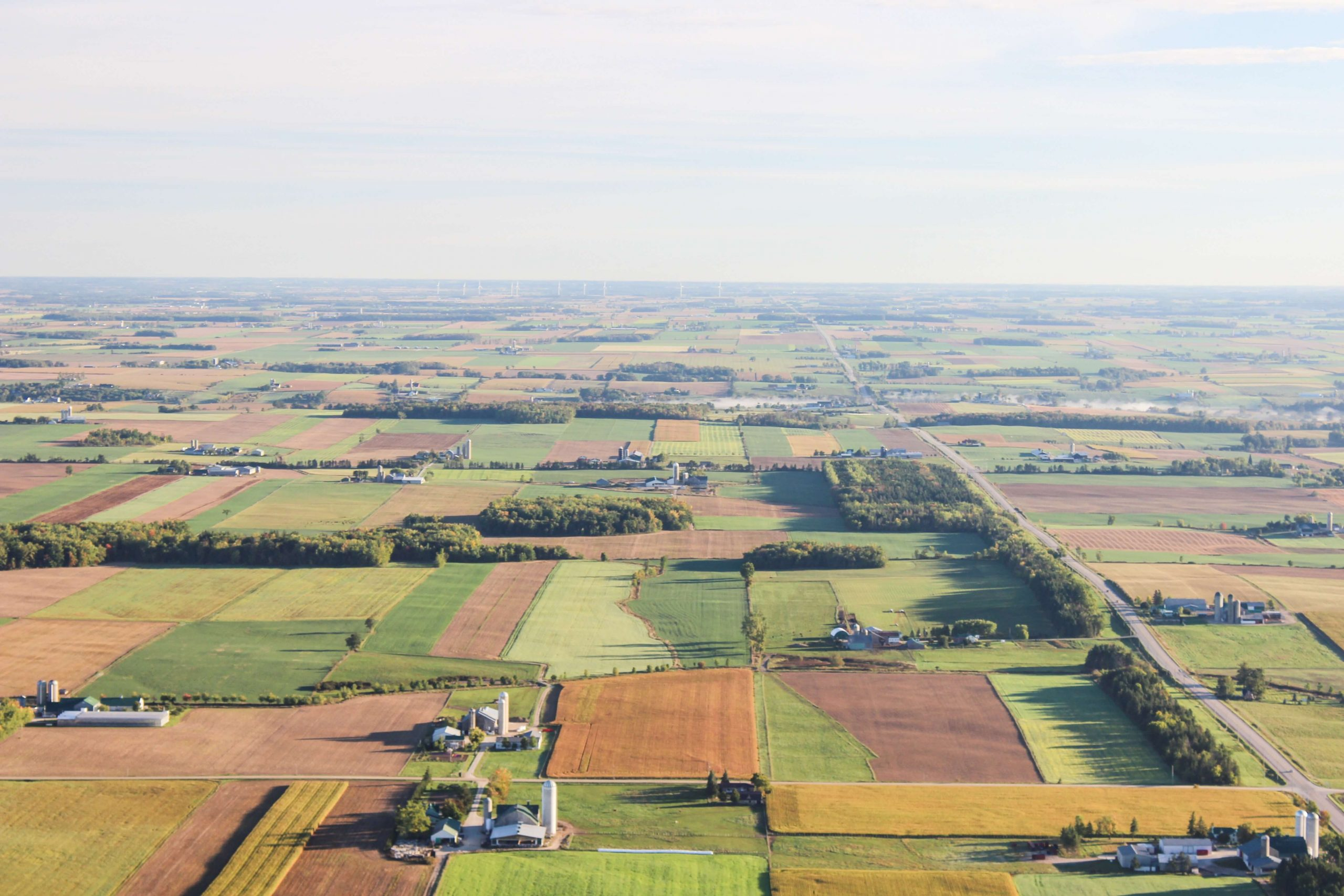 Cambridge aerial view