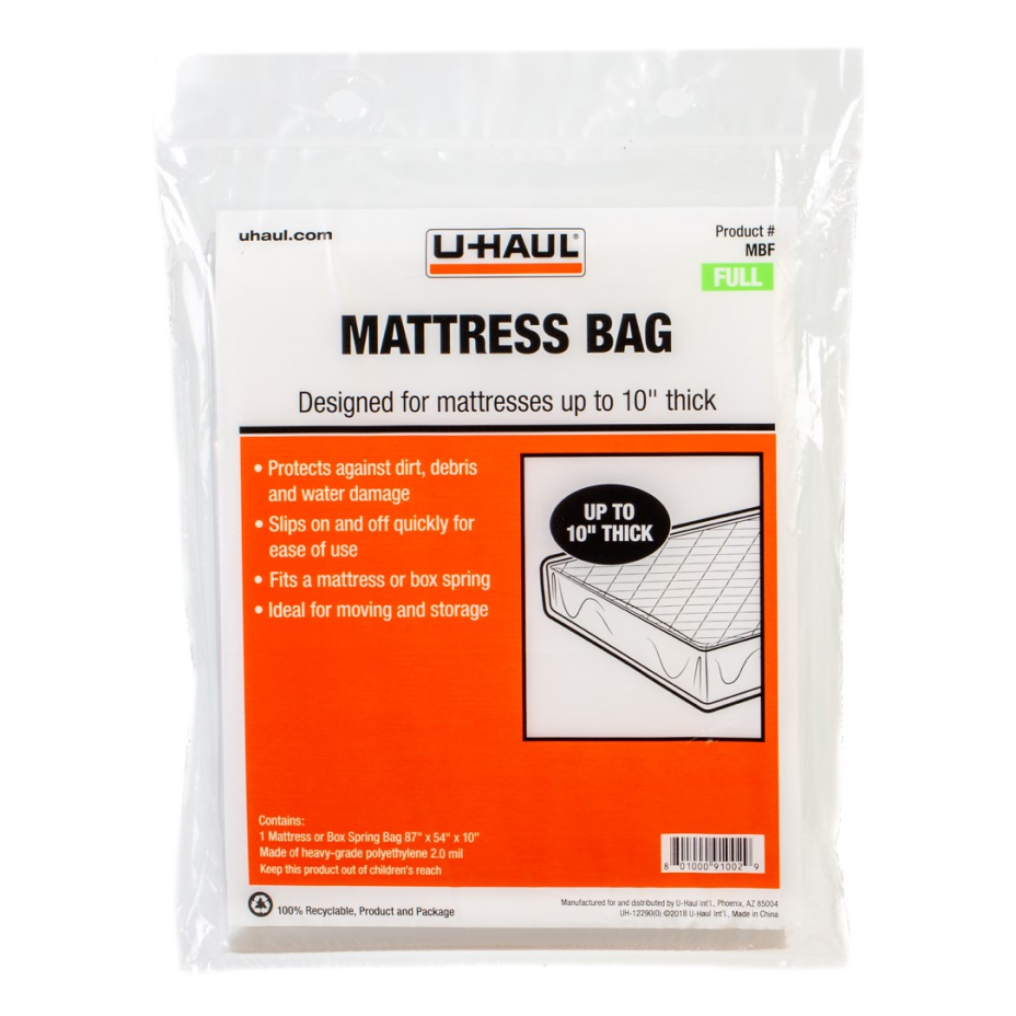Small mattress bag