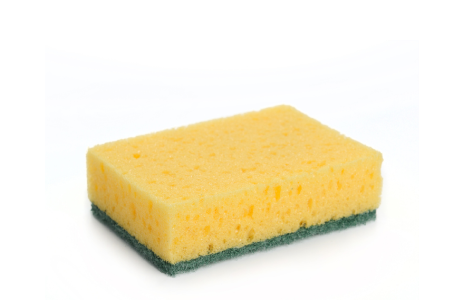 Heavy duty sponge